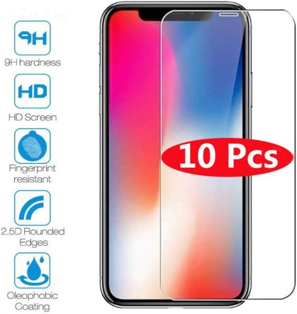Best screen Protector Tempered Glass For iPhone 11 X XS MAX XR 4 4s 5 5s SE 5c, glass screen Protector Film for iPhone 6 6S 7 8 Plus