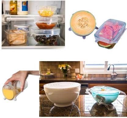 Silicone lids eliminates other plastic wrapper
