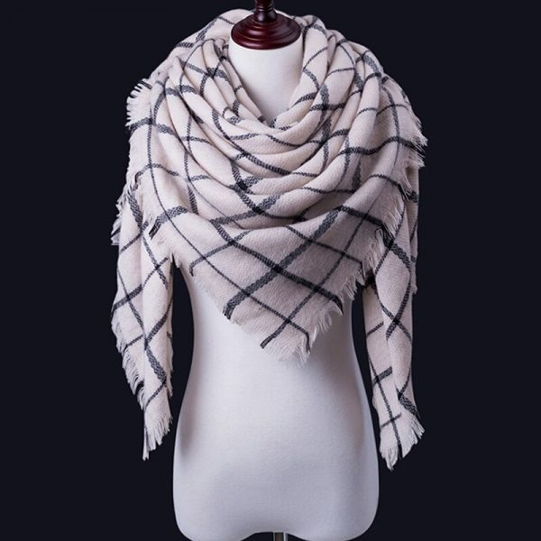 Women Winter Scarf For Women cashmere Scarf and Shawl Women's Blanket Scarf Warm Shawl Support Wholesale and Retail 2