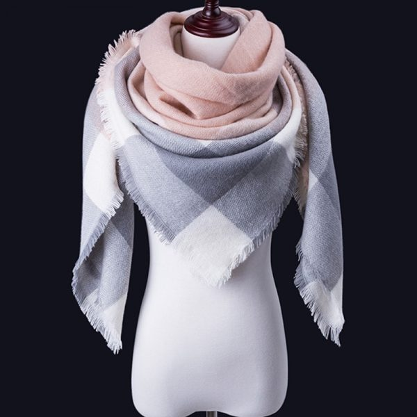 Women Winter Scarf For Women cashmere Scarf and Shawl Women's Blanket Scarf Warm Shawl Support Wholesale and Retail